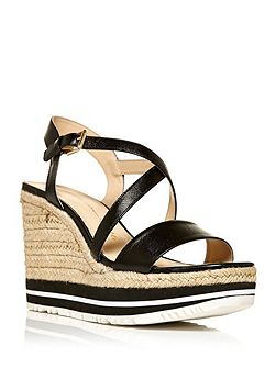 Piperette flatform wedge sandals