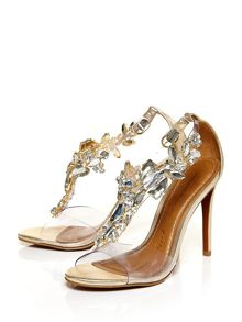 Moda in Pelle Stefiana high heel brazilian sandals