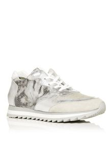 Moda in Pelle Ashtani lace up trainers