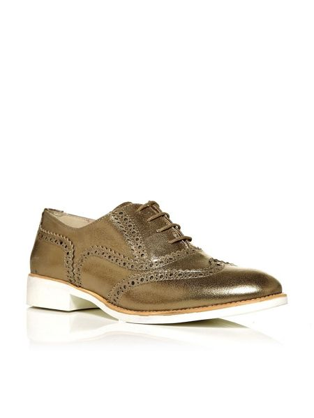 Moda in Pelle Bonito lace up brogue shoes
