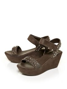 Moda in Pelle Picolo high wedged sandals