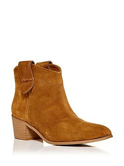 Capano western style ankle boots