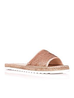 Onesta slip on espadrille style sandals