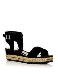 Moda in Pelle Romina two part sandals