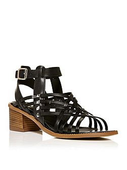 Larchi block heel sandals