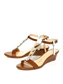Moda in Pelle Pablar low wedge sandals