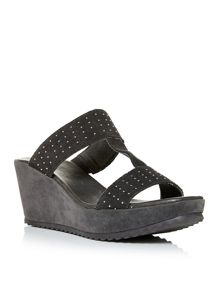 Moda in Pelle Pandrah wedge sandals