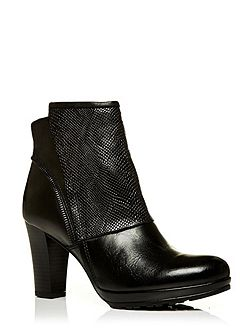 Moda in Pelle Upend high heeled ankle boots