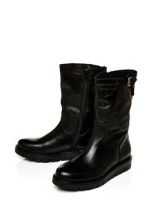 Moda in Pelle Ulysses casual mid calf wedge boots