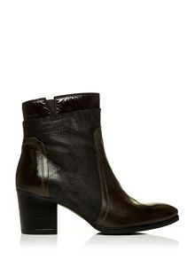 Ugric block heel ankle boots