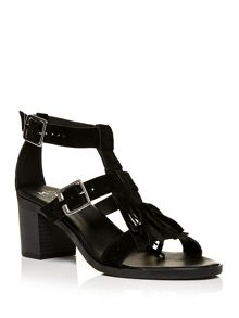 Moda in Pelle Lorello block heel sandals