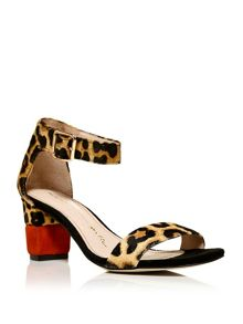 Moda in Pelle Mia block heeled sandals