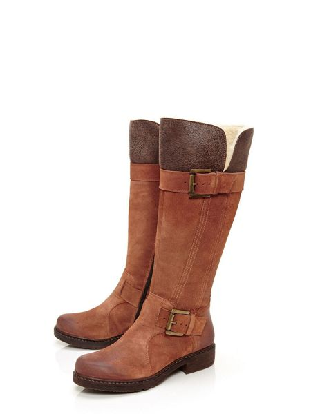 Moda in Pelle Galloe long boots