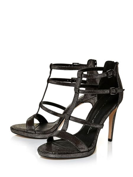 Moda in Pelle Santio t-bar strappy sandals