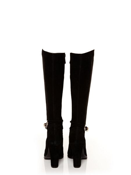 Moda in Pelle Viano knee high ankle boots
