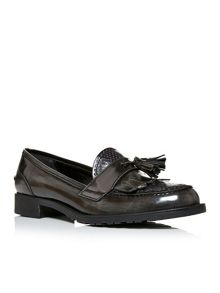 Moda in Pelle Farliz fringe and tassel loafers