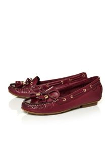 Moda in Pelle Agazia casual driving moccasin shoes