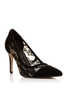 Moda in Pelle Calynda stiletto court shoes
