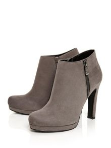 Moda in Pelle Berenicia platform ankle boots