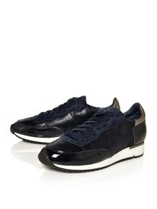Moda in Pelle Appia lace up trainers