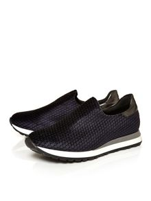 Moda in Pelle Alliy slip on trainers