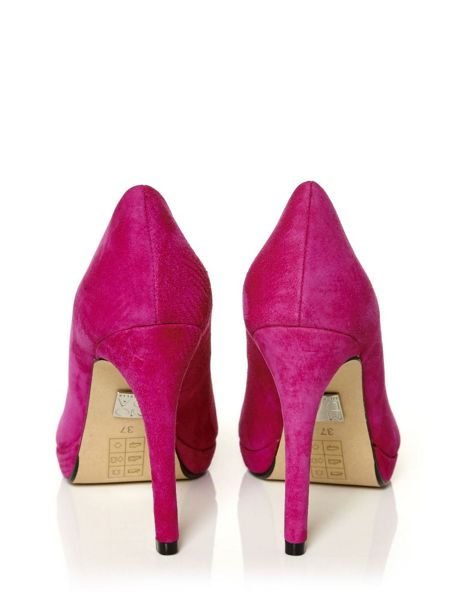 Moda in Pelle Kareeni occasion court shoes