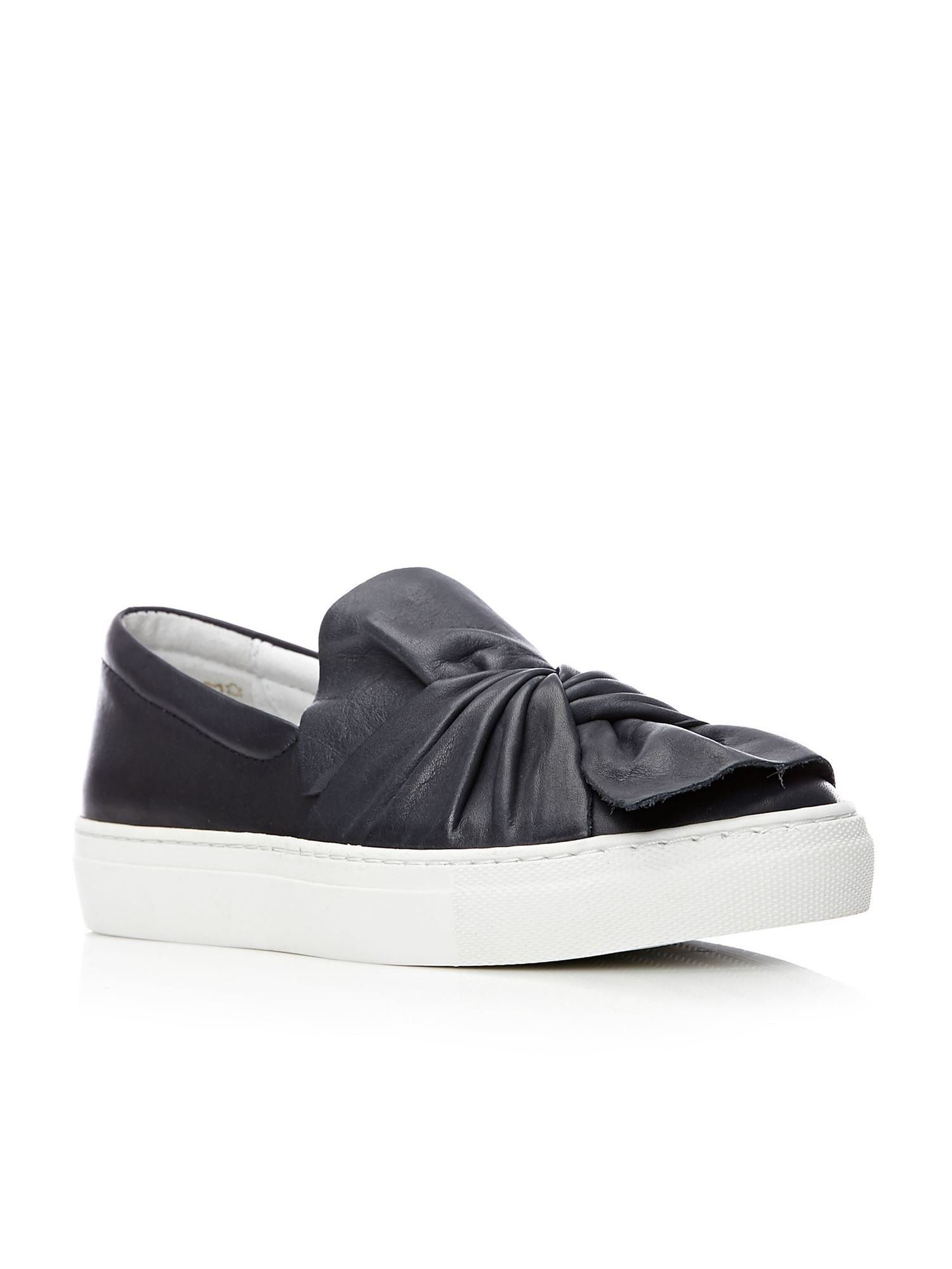 Moda in Pelle Annie Loafers, Blue