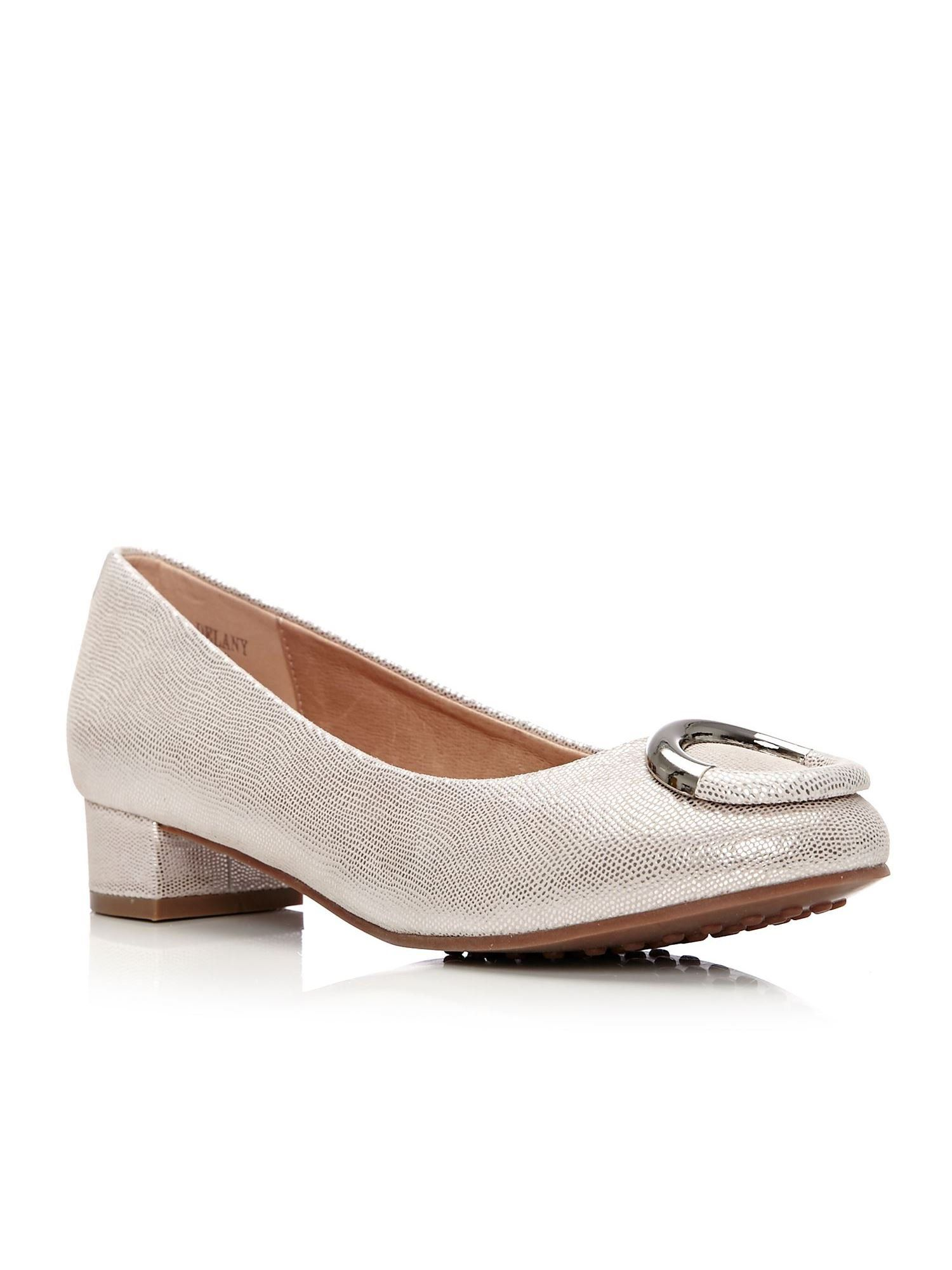 Moda in Pelle Delany Low Smart Shoes, Rose Gold