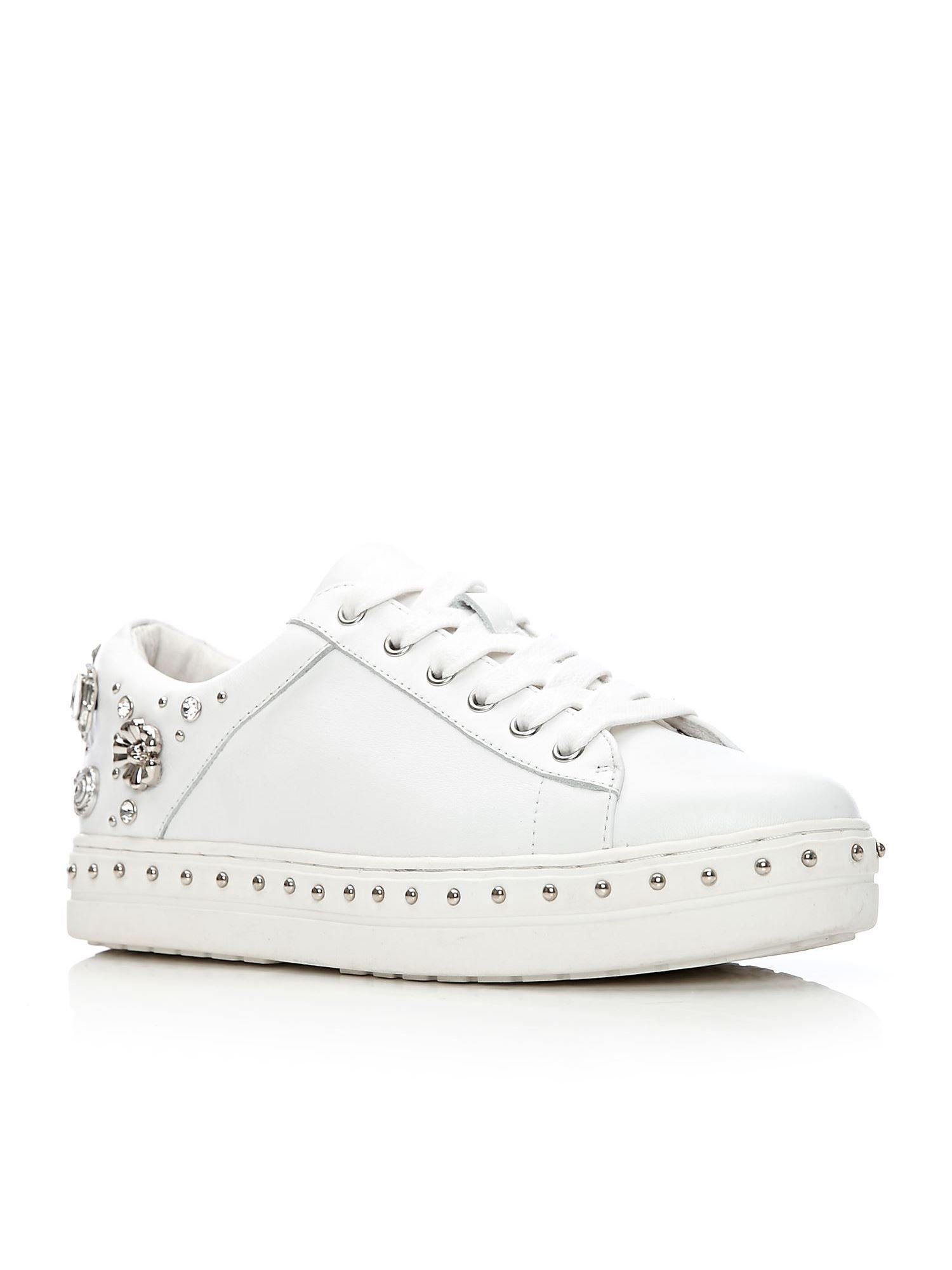 Moda in Pelle Bethania Low Leisure Shoes, White