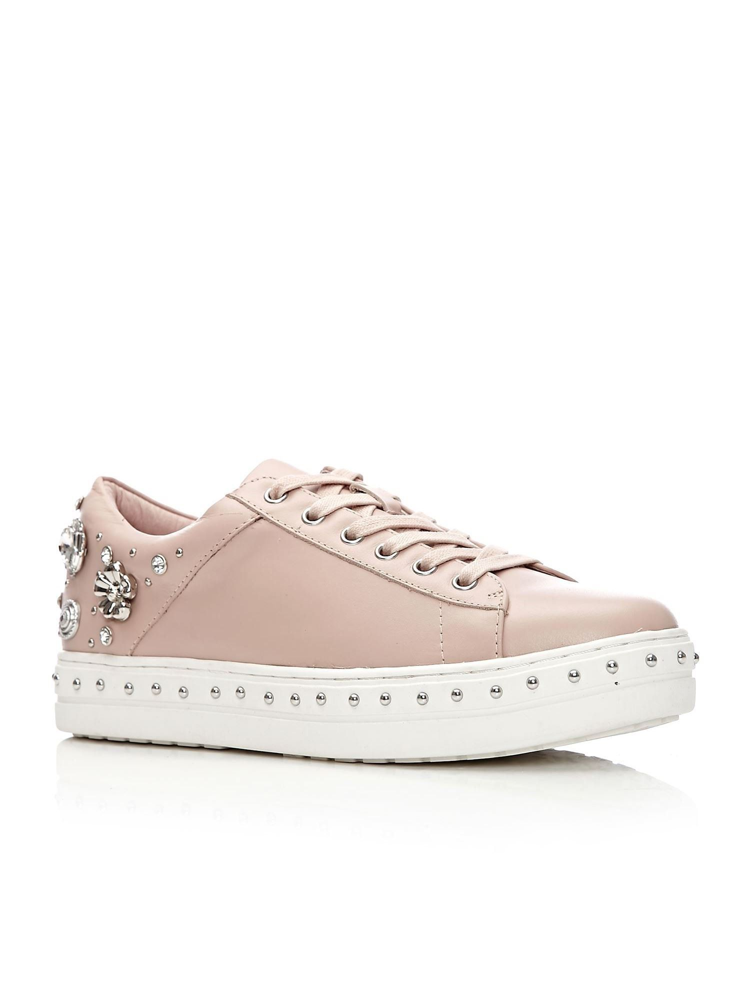 Moda in Pelle Bethania Low Leisure Shoes, Light Pink