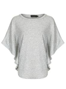 Knitted Poncho Style Top