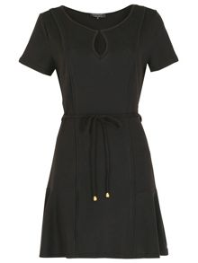 Pussycat Skater dress with panel detailing