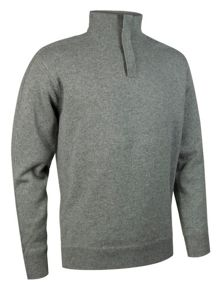 Beamish Plain Half Zip Neck Jumper