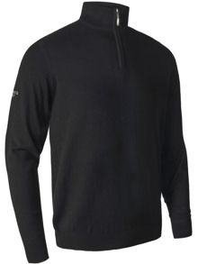 Cashmere Zip Neck Jumper
