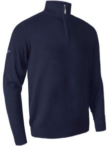 Glenmuir Cashmere Zip Neck Jumper