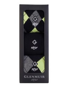 3 Argyle Sock Pack