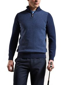 Glenmuir Boleyn Zip Neck
