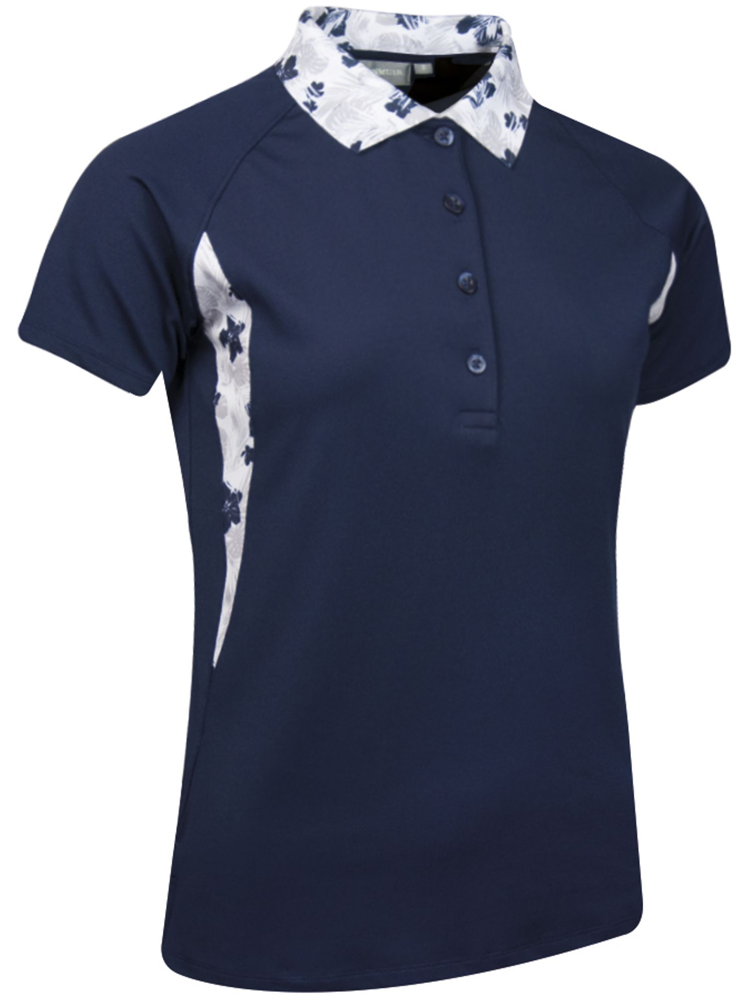 Glenmuir Geena Flora Polo, Blue