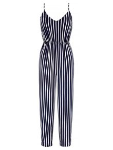 Mela Loves London Stripe Print Jumpsuit