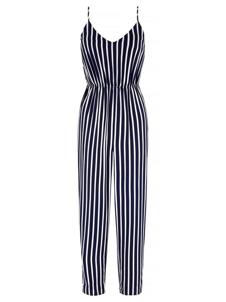 Mela London Stripe Print Jumpsuit