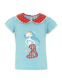Girl`s mermaid t-shirt