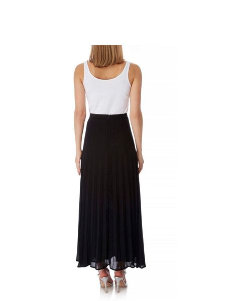 Yumi Pleated Maxi Skirt