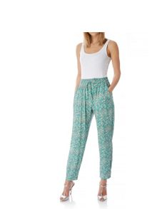 Yumi Ditsy Vintage Floral Print Trousers