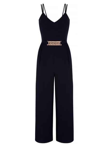 Mela London Strappy Structured Jumpsuit