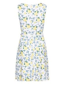 Mela Loves London Lemon Florals Dress