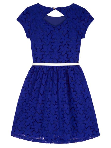Yumi Girls Girls Lace Skater Dress