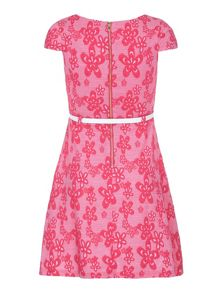 Yumi Girls Girls Floral Print Day Dress