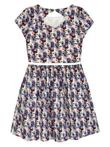 Yumi Girls Girls Floral Lace Dress