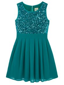 Yumi Girls Sequin Dress