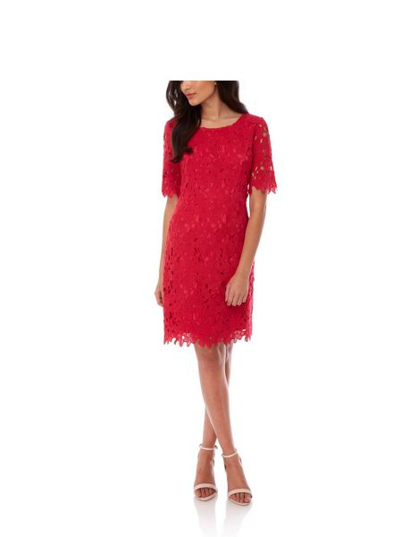 Yumi Floral Lace Occasion Dress